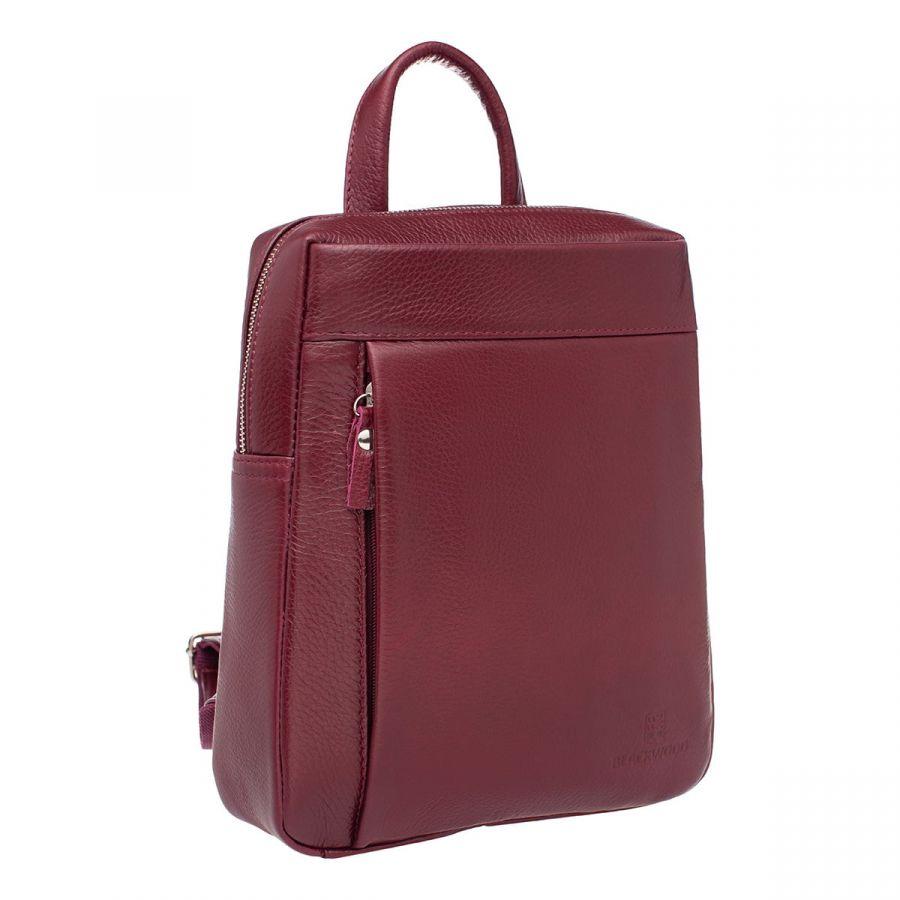 Женский кожаный рюкзак Blackwood Darcy Burgundy