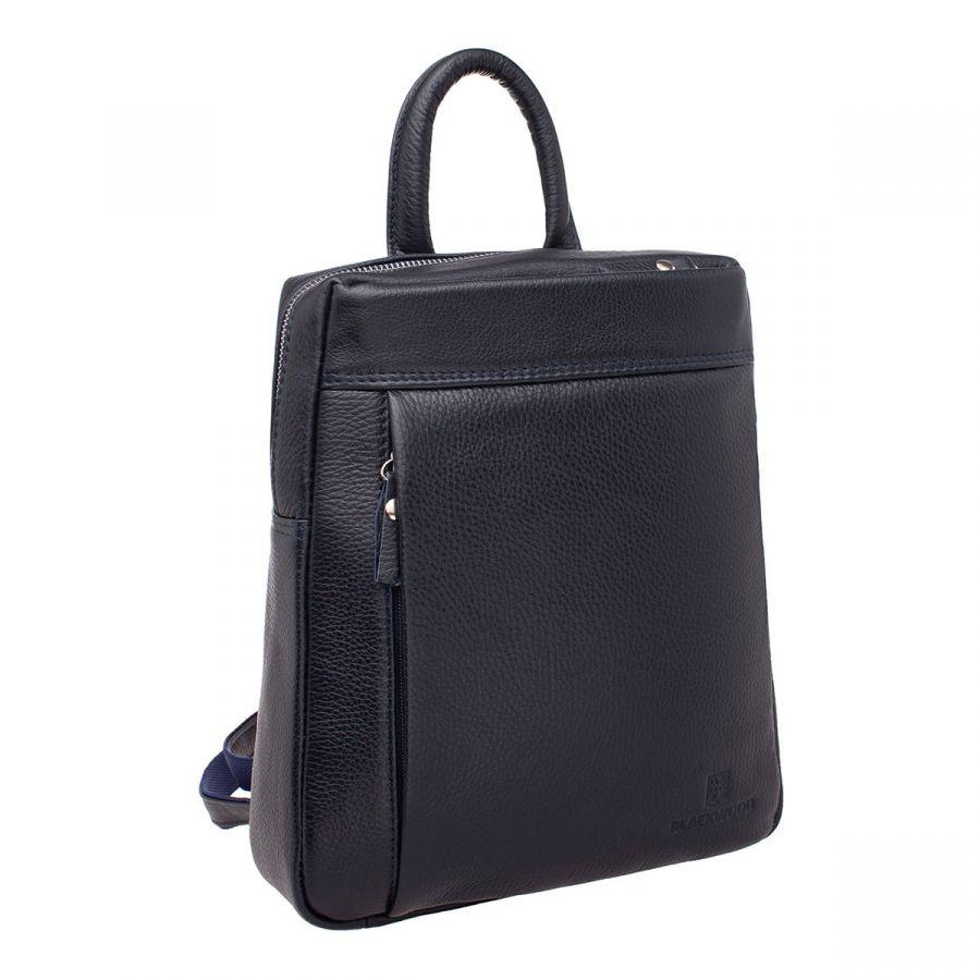 Женский кожаный рюкзак Blackwood Darcy Dark Blue