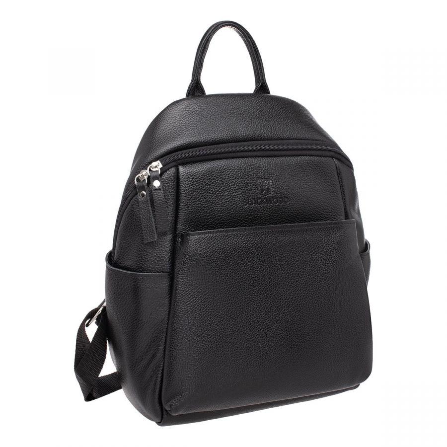 Женский кожаный рюкзак Blackwood Bales Black