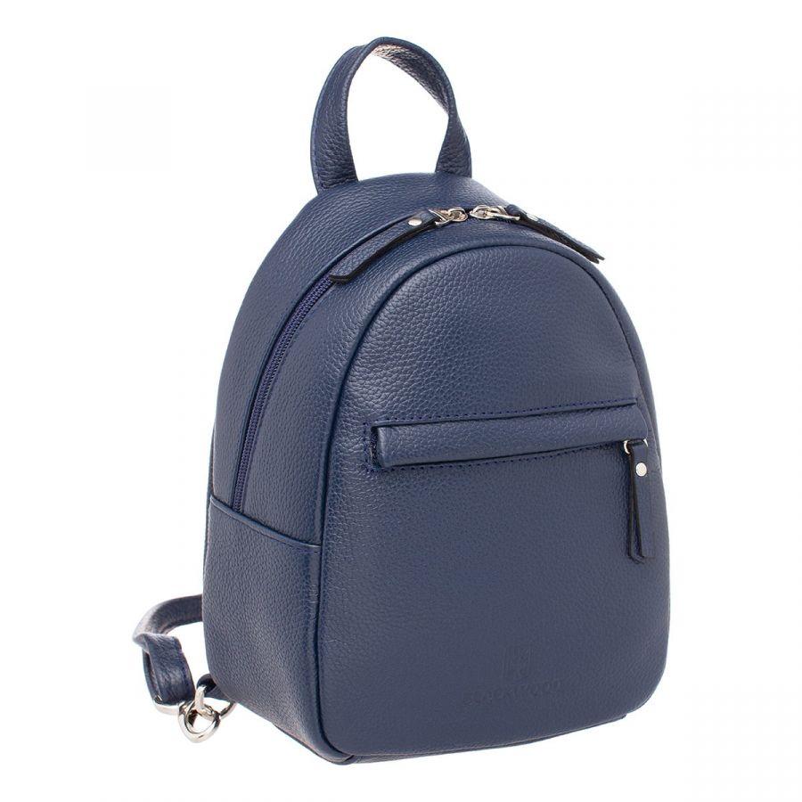 Женский кожаный рюкзак Blackwood Canberra Dark Blue