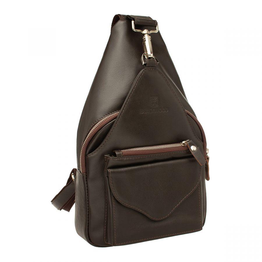 Женский кожаный рюкзак Blackwood Fassett Brown