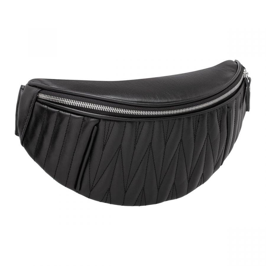 Женская кожаная поясная сумка Blackwood Darling Black