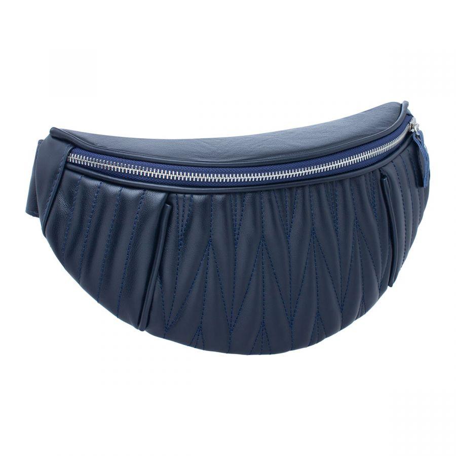 Женская кожаная поясная сумка Blackwood Darling Dark Blue