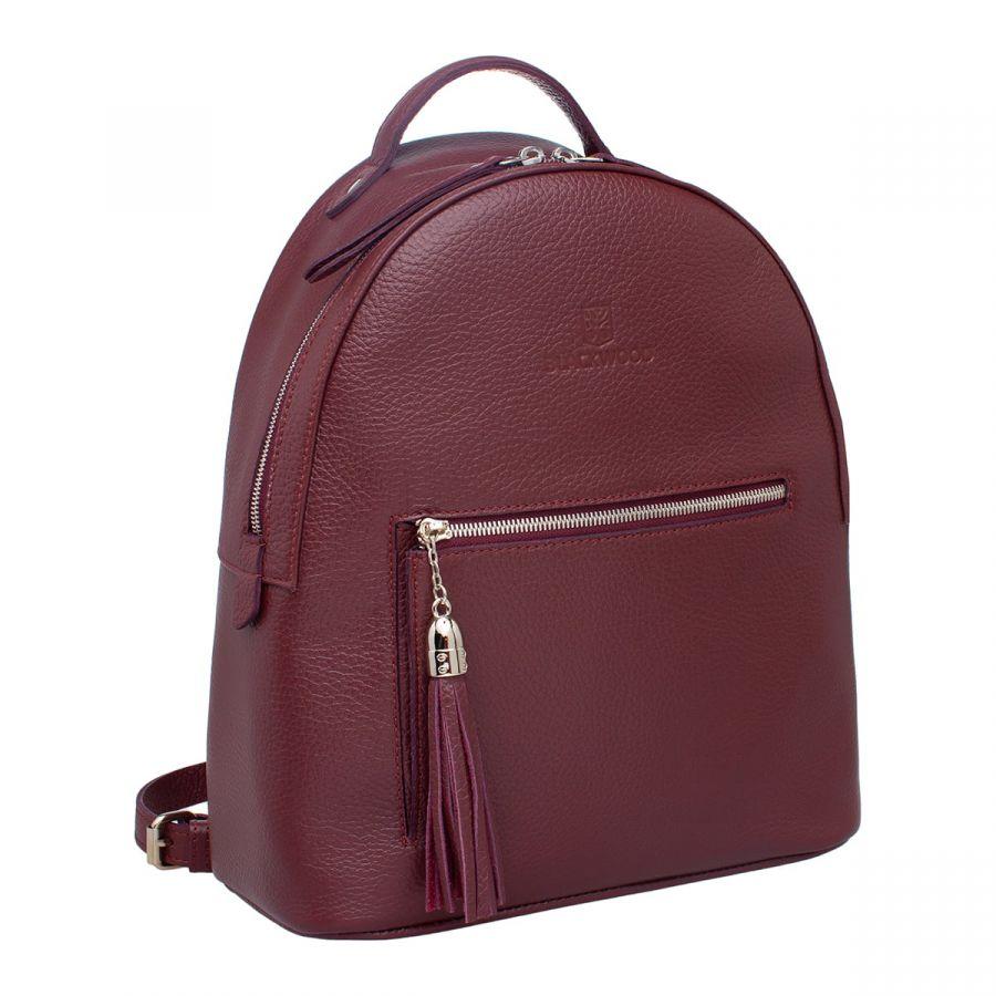 Женский кожаный рюкзак Blackwood Jarsey Burgundy