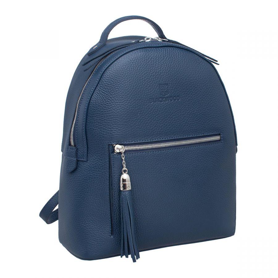 Женский кожаный рюкзак Blackwood Jarsey Dark Blue