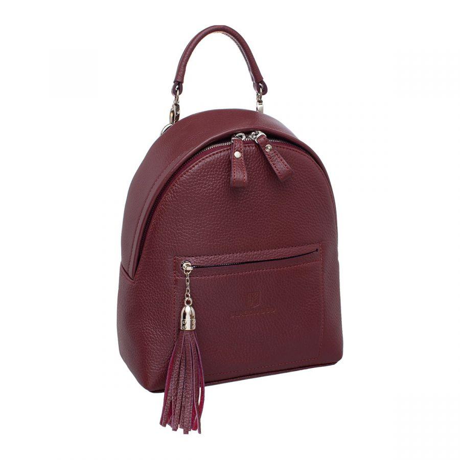 Женский кожаный рюкзак Blackwood Jessie Burgundy