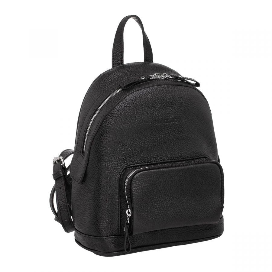 Женский кожаный рюкзак Blackwood Lairs Black