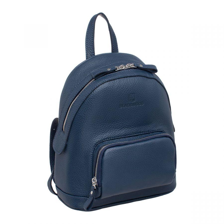 Женский кожаный рюкзак Blackwood Lairs Dark Blue