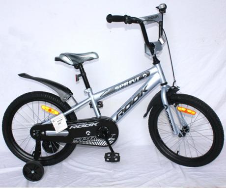 "Велосипед Rook Sprint 18"" серый"