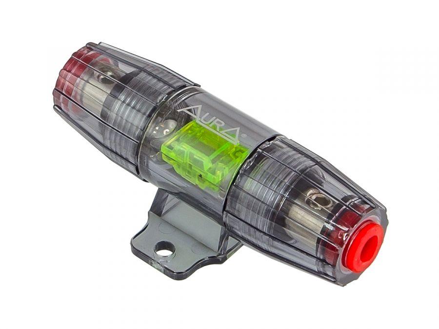 Держатель предохранителя Mini Anl с компрессионным зажимом Aura FHM-6100