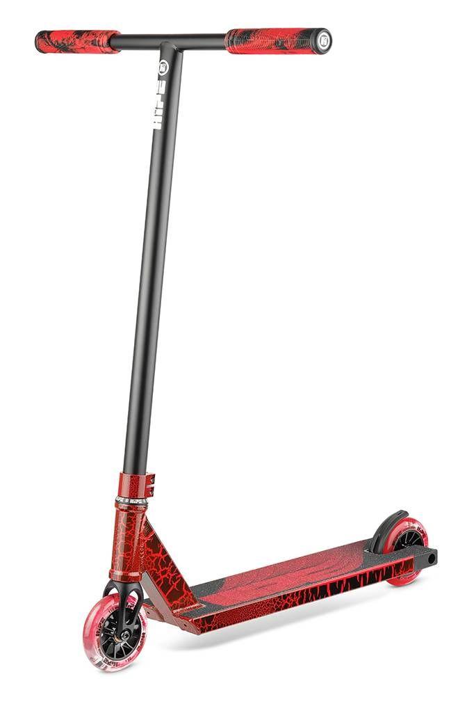Самокат трюковый HIPE H11 black/red (Lava) 2021