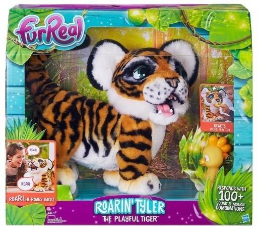 Тигр интерактивный