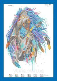 ЮМА ЮМА-3365 Лошадь схема для вышивки бисером купить оптом в магазине Золотая Игла - вышивка бисером