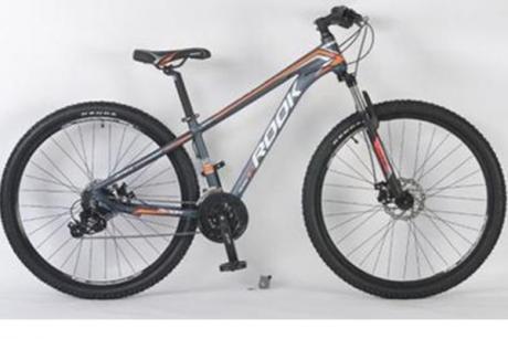 """Велосипед 26"""" Rook MА261D серый/оранжевый"""