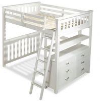 Кровать-чердак Лейла (Кадет) №11, любые размеры