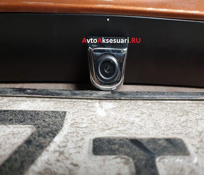 Универсальная камера переднего/заднего вида серебро TY-812