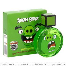 ANGRY BIRDS Sweet tooth Pig.Туалетная вода 50мл для детей, шт