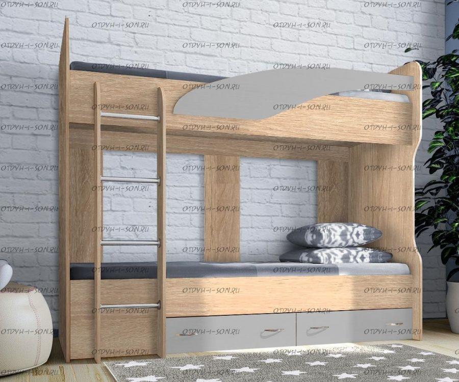 Кровать двухъярусная Фанки Соло-4