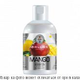DALLAS MANGO Шампунь питательный для волос с маслом манго 1000г/12шт, шт