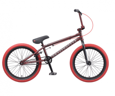 Велосипед BMX Grasshoper 20 черно красный