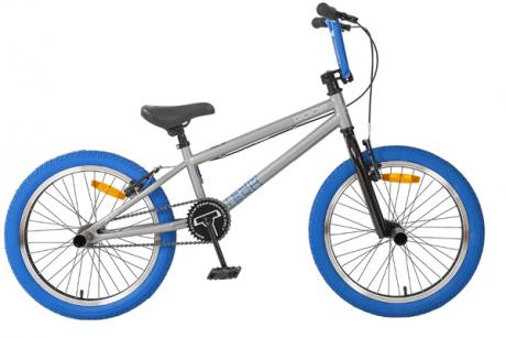 Велосипед BMX Goof 20 серо-синий