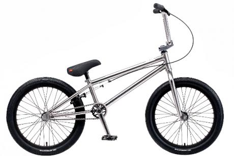 """Велосипед TechTeam ВМХ Millennium 20"""" хром"""