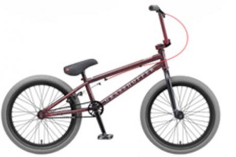 """Велосипед BMX Grasshoper 20"""" красно-серый"""