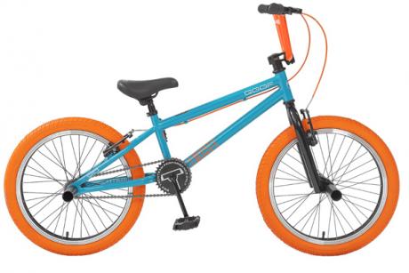 Велосипед BMX Goof 20 бирюзово-оранжевый