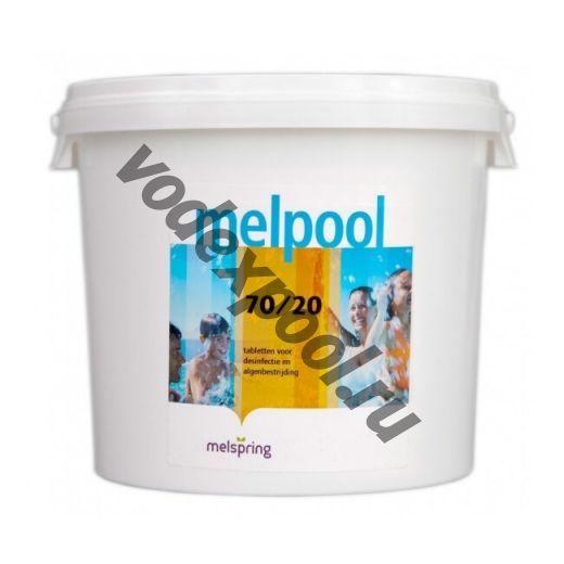Melpool 70/G 25 кг. в гранулах на основе гипохлорита кальция