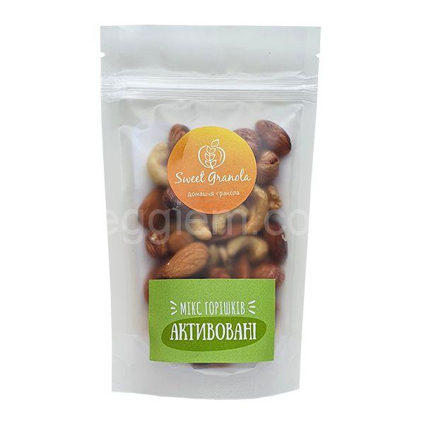 Микс орехов Активированные Sweet Granola,75 грамм