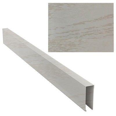 Кубообразный реечный потолок дуб белый