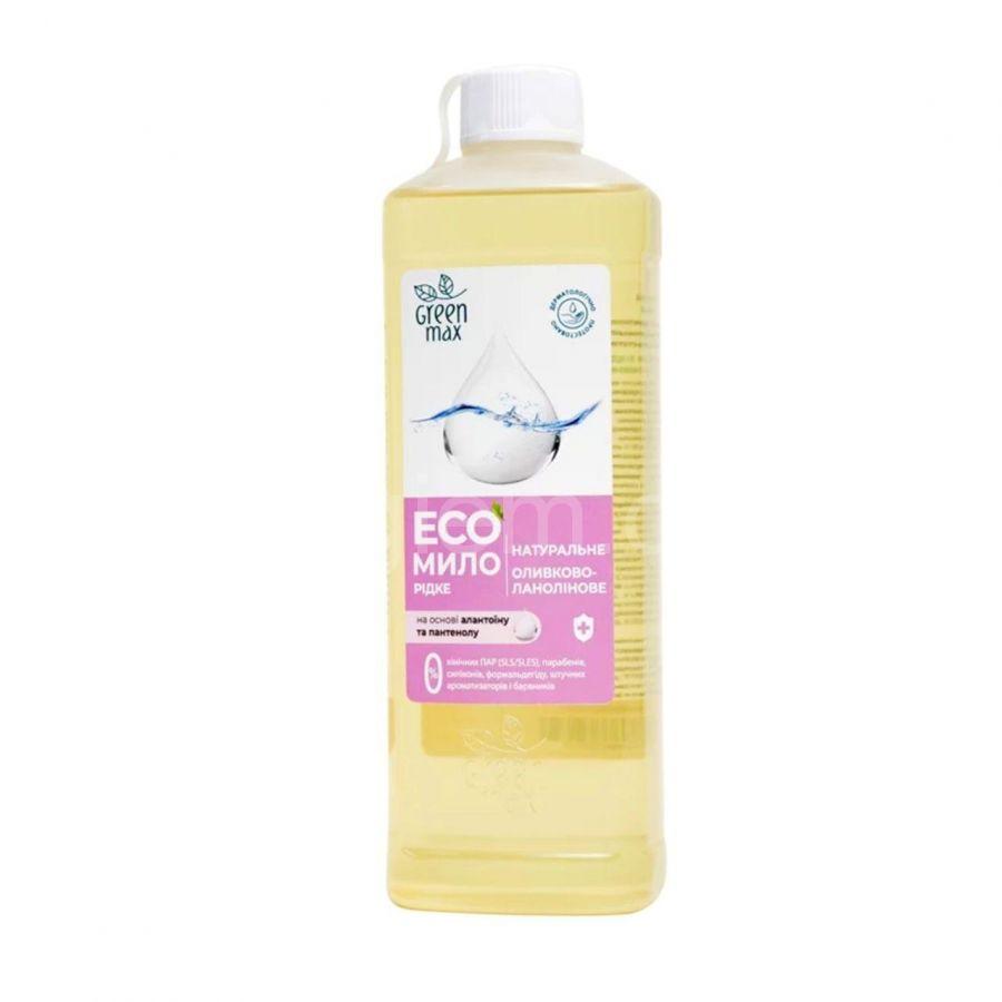 Жидкое мыло оливково-ланолиновое Geen Max,500 мл