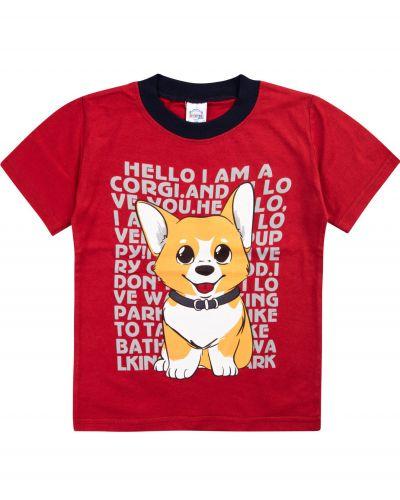 """Футболка для мальчиков 1-4 лет Bonito """"Dog""""."""