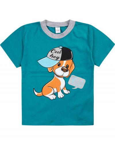 """Футболка для мальчиков 1-4 лет Bonito """"Dog+""""."""
