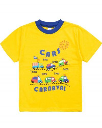 """Футболка для мальчиков 1-4 лет Bonito """"Cars carnaval"""""""