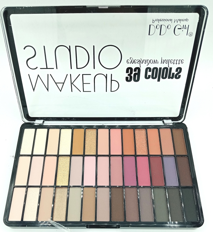 Палетка теней DoDo Girl MakeUp Studio 39 colors B (13200)