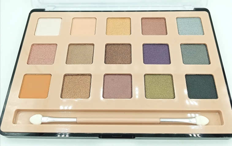 Палетка теней DoDo Girl EyesHadow Palette 15 colors B (13320)