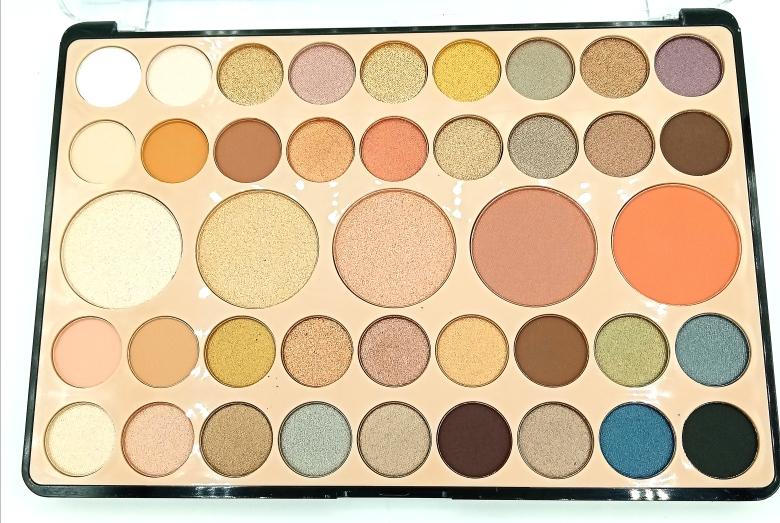 Палетка теней DoDo Girl Eyeshadow 41 Colors (тени+хайлайтер+румяна) (13320)
