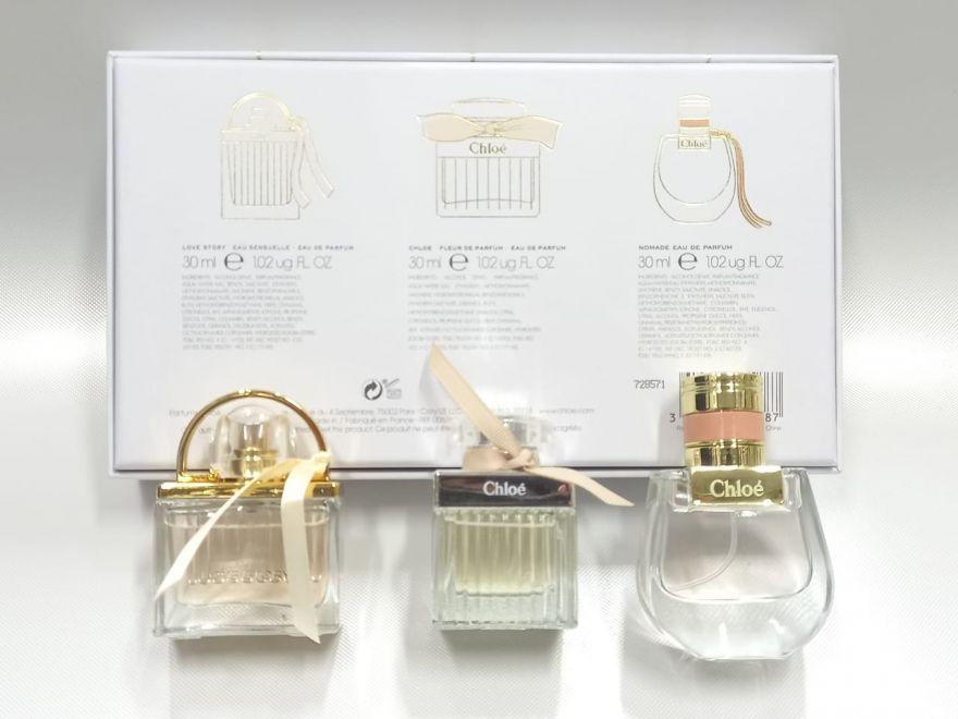 Подарочный набор CHLOE Les Parfums 3x30 мл