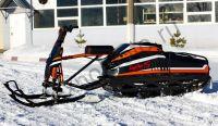 Мотобуксировщик Мухтар 15 NEW 2021 с лыжным модулем