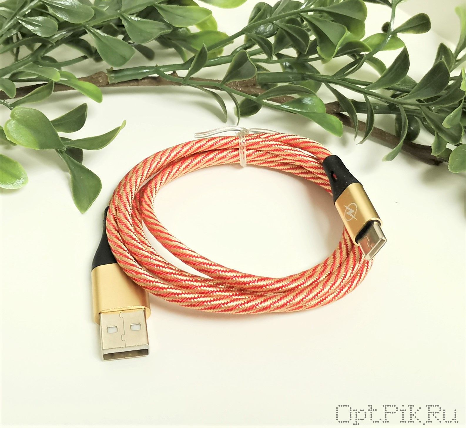 Кабель USB - Type-C 1 метр для зарядки
