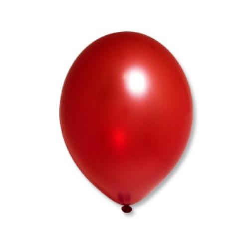 Шар Металлик Красный Red (50 шт.) 450 (пр-во Малайзия)