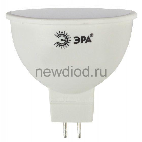 Лампа светодиодная Эра LED MR16-8W-840-GU5.3 (диод, софит, 8Вт, нейтр, GU5.3)