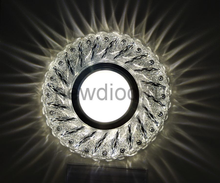 Точечный Светильник OREOL Crystal 7805B 112/60mm Под Лампу MR16 Белый