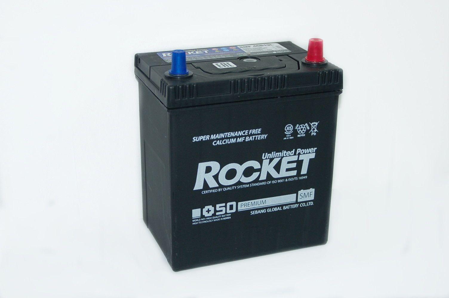 Rocket 42Ач JIS 46B19L (46B19R)