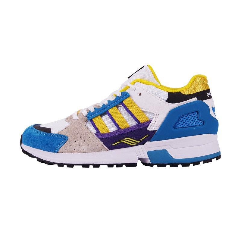 Кроссовки Adidas ZX 10,000 голубые