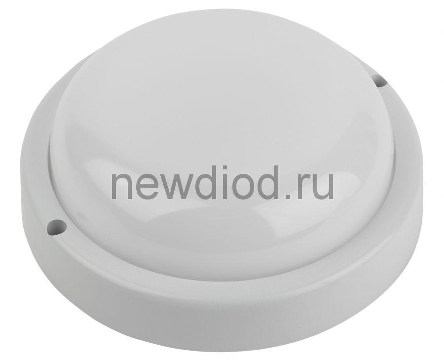 Cветильник светодиодный IP65 12Вт 1140Лм 4000К D155 КРУГ ЖКХ LED SPB-201-0-40К-012 ЭРА