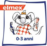 Зубная щетка детская Elmex + 12 мл зубной пасты