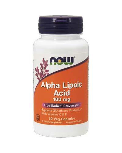 NOW - Alpha-Lipoic Acid 100 мг