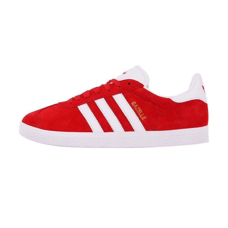 Кроссовки Adidas Gazelle красные